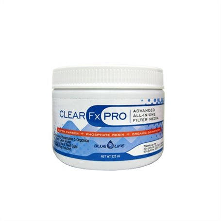 CLEAR FX PRO 225ml All-in-one Filtration Media 12/cs