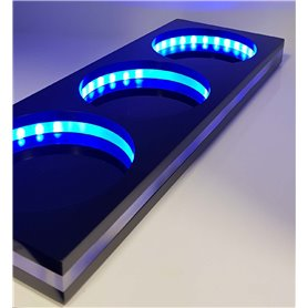 3 LED DOSING VESSEL BASE