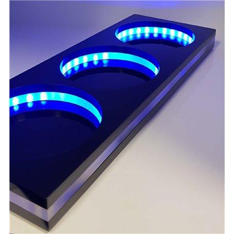 3 LED DOSING VESSEL BASE