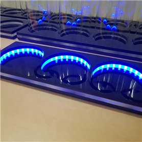 4 LED DOSING VESSEL BASE
