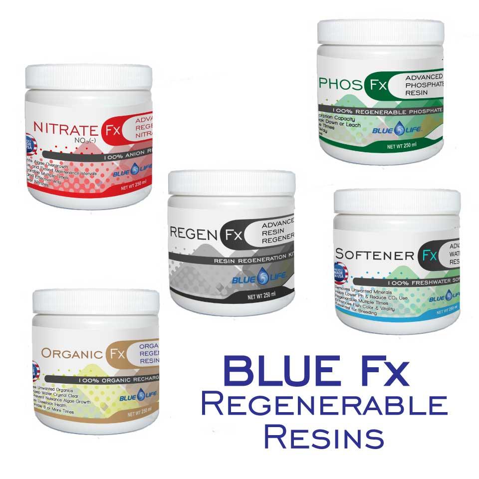 Blue Fx Regenerable Resins - Blue Life